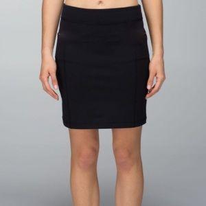 RARE Lululemon Tight Black Skirt